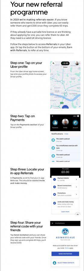 London Uber Eats referral | Uber Drivers Forum
