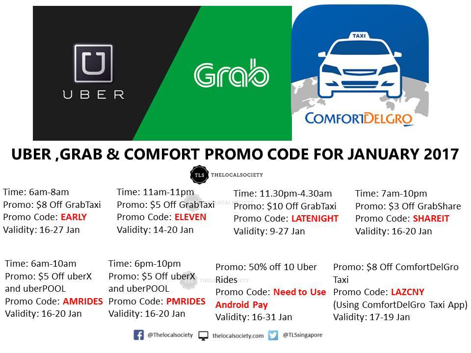All the Promo Codes of the month | Uber Drivers Forum
