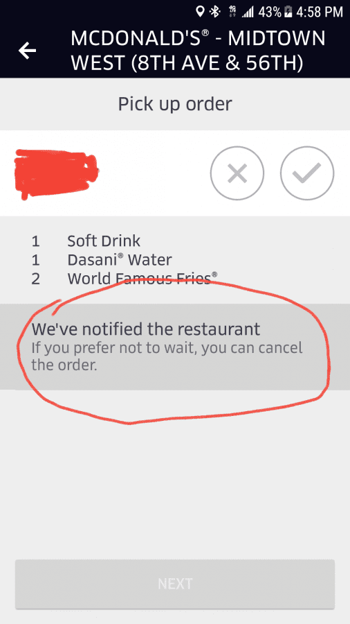How To Cancel Uber >> You Can Instantly Cancel At Mcdonalds Uber Drivers Forum