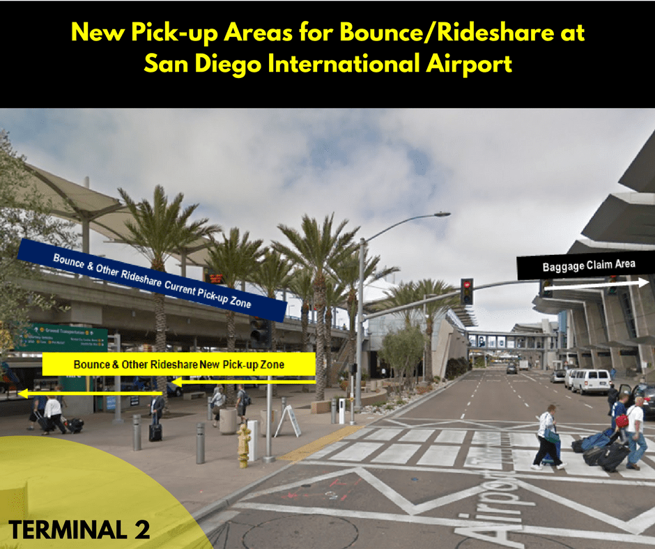 Rideshare San Diego >> New Pick Up Area At San Uber Drivers Forum