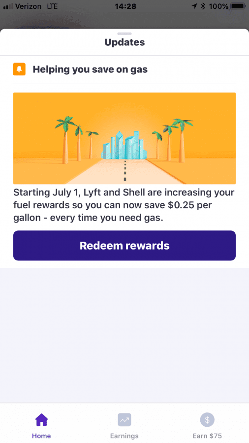 notified s fuel going up in july uber drivers forum - Uber Fuel Rewards Card Activation