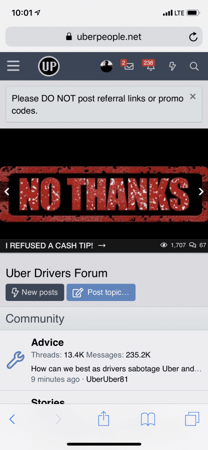 Kudos to CJ | Uber Drivers Forum