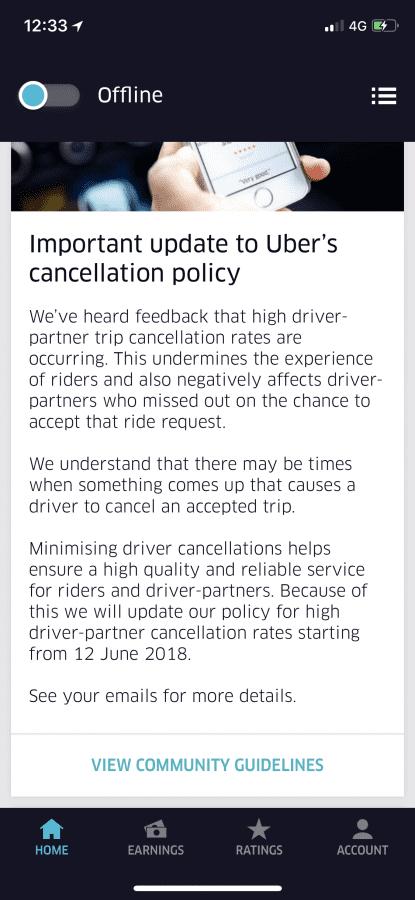 The honeymoon is over | Uber Drivers Forum