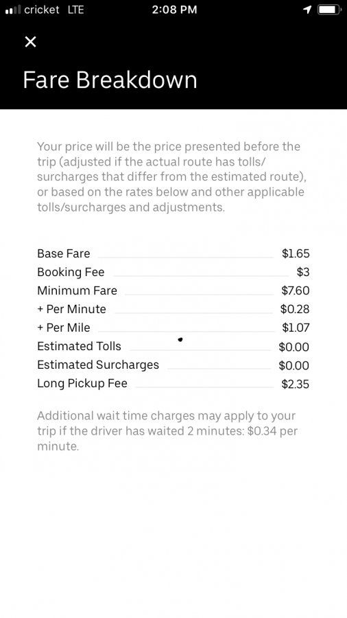 Ride Costs Vs Drivers Pay   Uber Drivers Forum