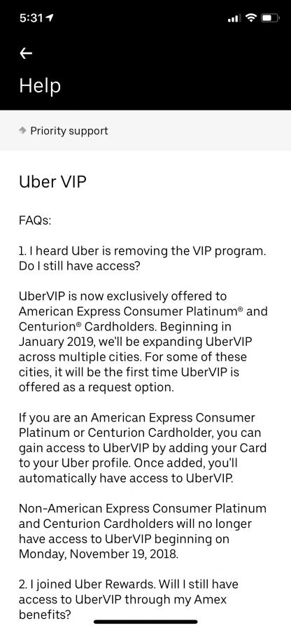 Trip type - VIP? | Uber Drivers Forum