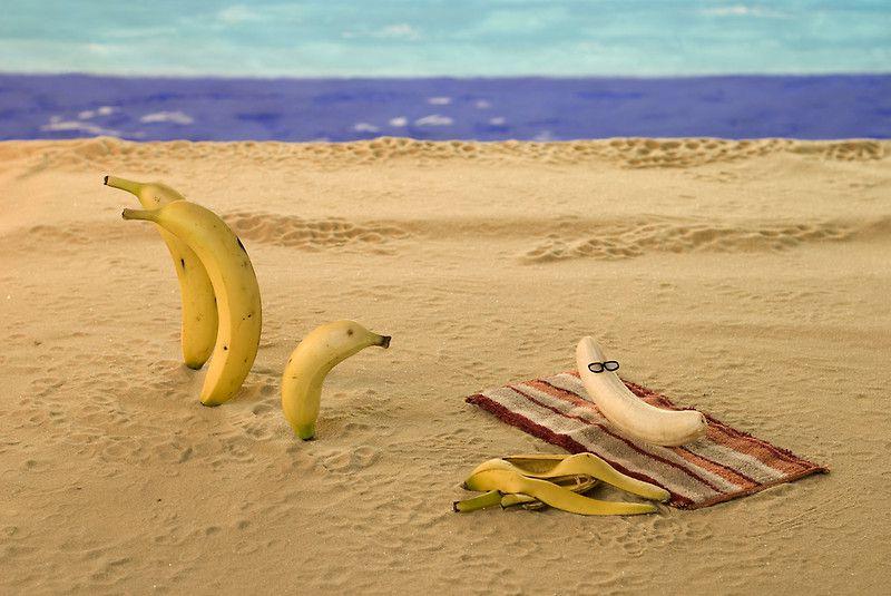 знак протеста пляж банан в дырке заранее подготовьте