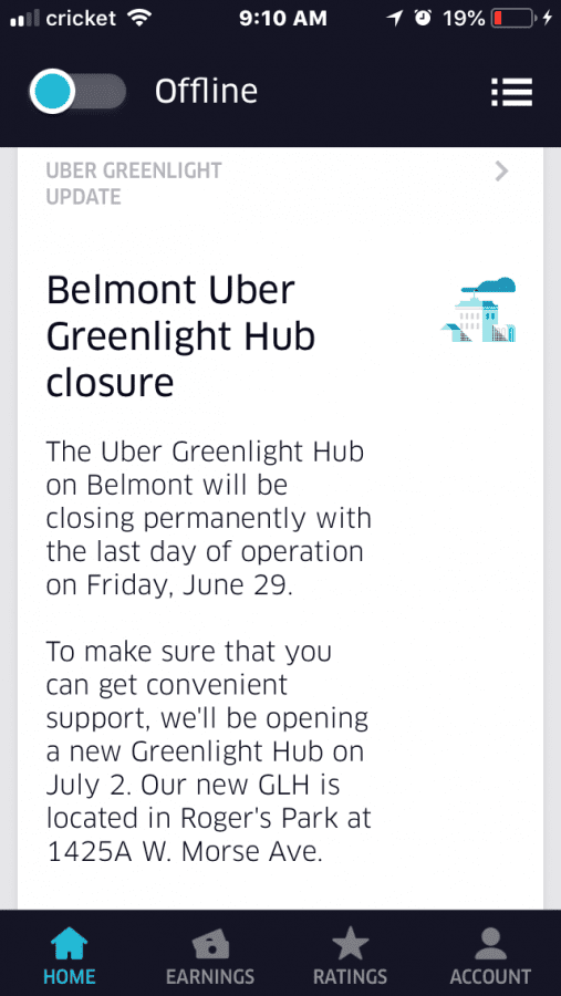 Belmont Hub relocates to Rogers Park | Uber Drivers Forum