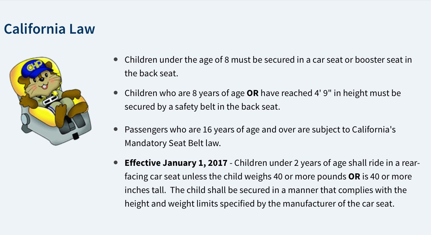 No Car Seat No Ride Uber Drivers Forum