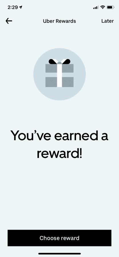 what is uber rewards