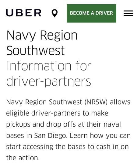 Will A Navy Base Pass Be Worth It Uber Drivers Forum