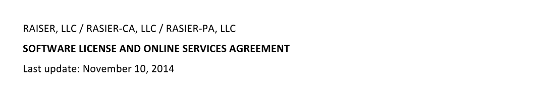 Does Uber Have A Partnership Agreement Newer Than Nov 2014 Uber