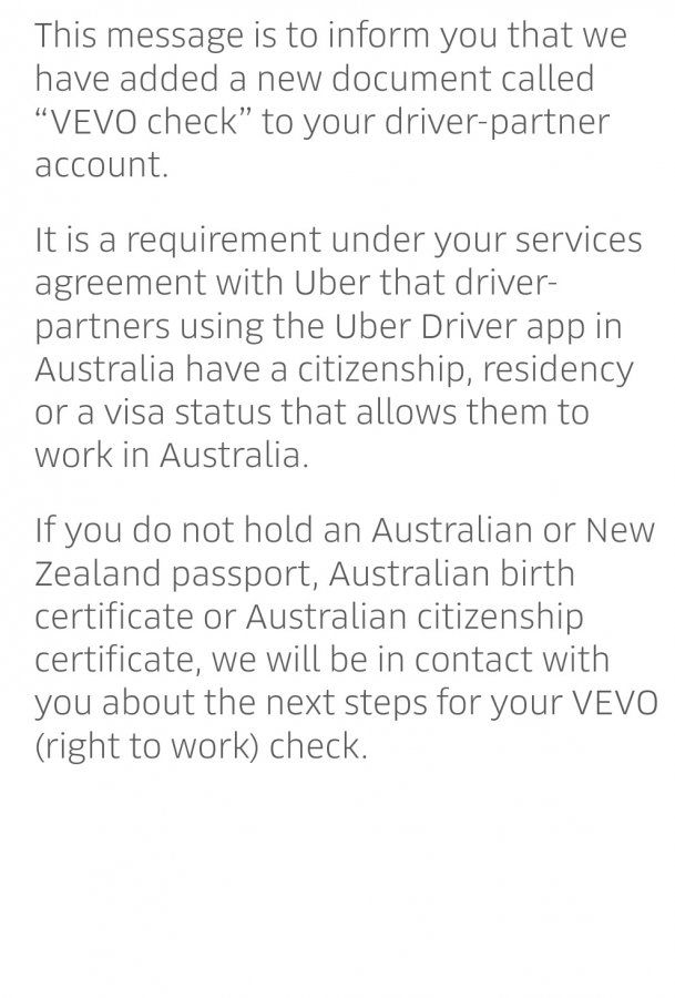 Finally Driver Culling Based On Valid Visa To Begin Uber Drivers