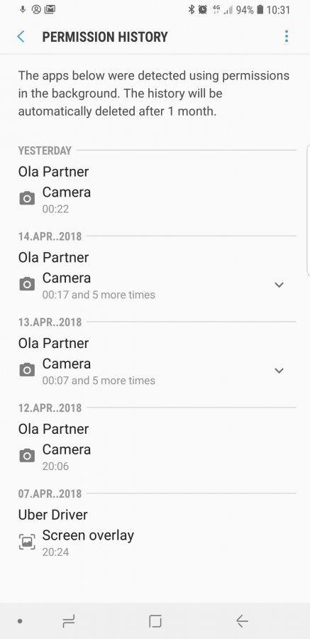 Ola partner driver app