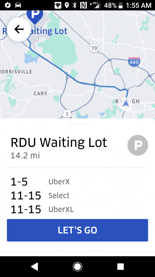 Rdu queue !!! | Uber Drivers Forum on ewn airport map, evv airport map, rno airport map, mfe airport map, lft airport map, fnt airport map, mlu airport map, fai airport map, clt airport map, bgr airport map, durham airport map, eug airport map, portland international airport map, ilm airport map, jac airport map, edi airport map, roc airport map, sbp airport map, airlines washington dulles airport map, fay airport map,