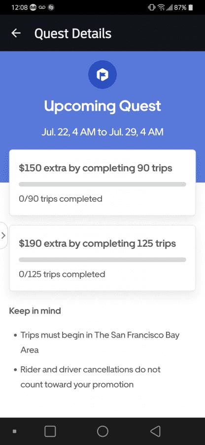 Uber Lowered the Fair Rental Quests Bonus Again! | Uber Drivers Forum
