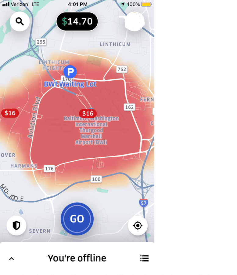 Bwi Airport Map on