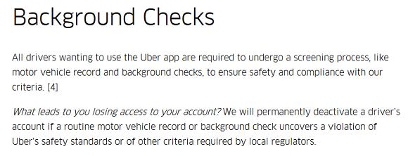 Uber Doing Random Background Checks Uber Drivers Forum